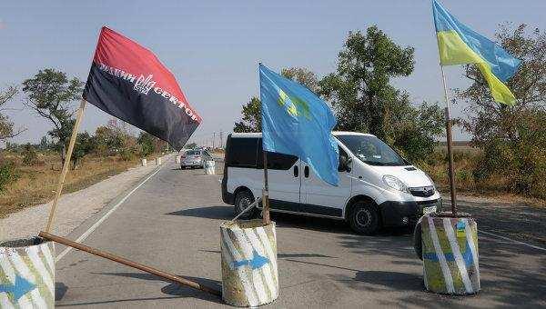 Украинские коммерсанты отправляют товары в Крым на баржах, минуя блокаду | Русская весна