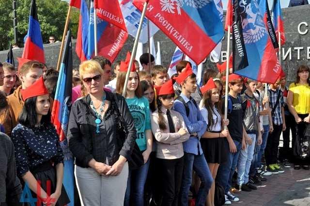 97% школьников ДНРвыбрали русский языком обучения  | Русская весна
