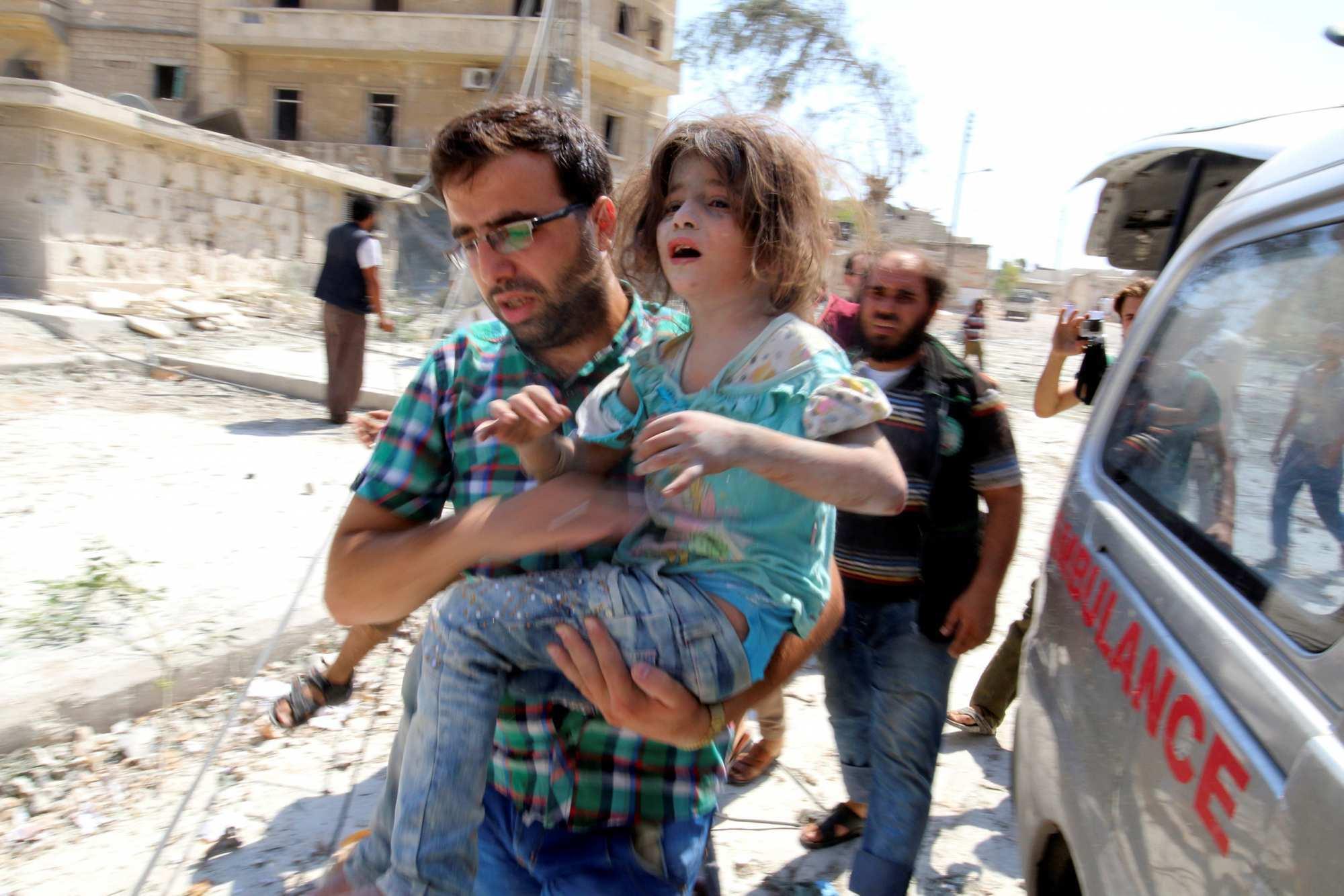 О сирийской девочке, которую после бомбардировки «спасали» несколько раз за месяц (ФОТО, ВИДЕО) | Русская весна