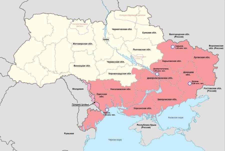 ДНР займется оккупированными территориями — от Харькова до Львова   Русская весна