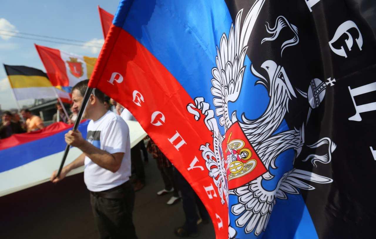 Многотысячное шествие вДонецке коДнюРеспублики (ВИДЕО)   Русская весна