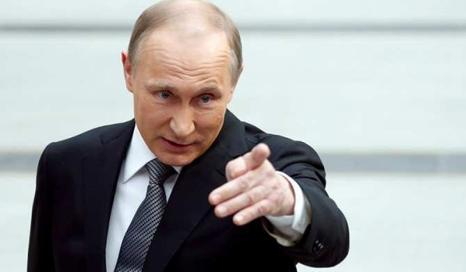 ПоДонбассу стреляет Украина, — Путин (+ВИДЕО) | Русская весна