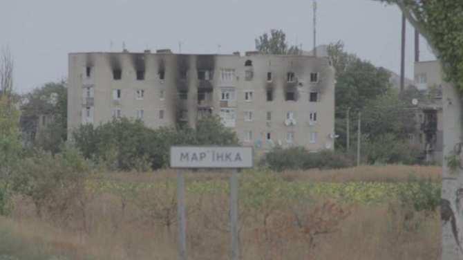 В Марьинке ВСУ пошли в атаку и понесли потери в бронетехнике и личном составе   Русская весна