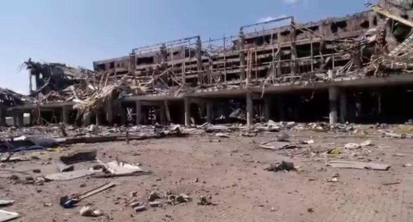 ВСУ обстреляли район Донецкого аэропорта из тяжелого вооружения, — ДНР | Русская весна