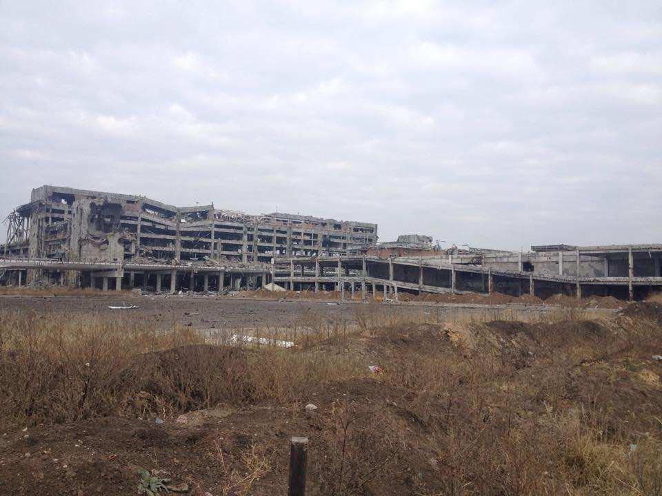 Украинские каратели ведут обстрел Донецкого аэропорта (ФОТО) | Русская весна