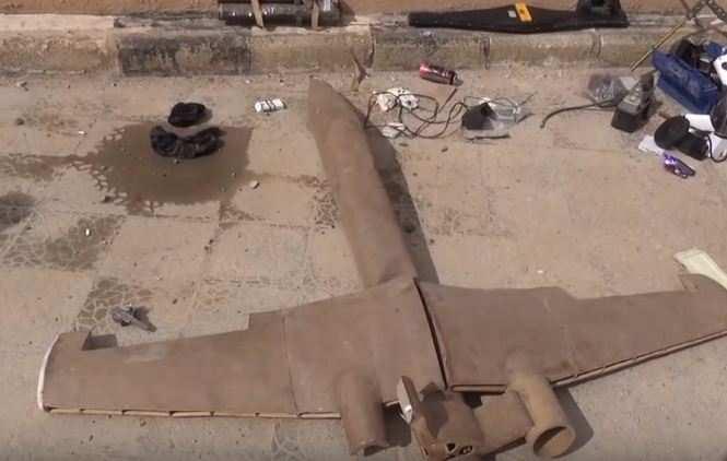 Дроны ИГИЛ: курды и САА показали сбитые беспилотники террористов (ВИДЕО) | Русская весна