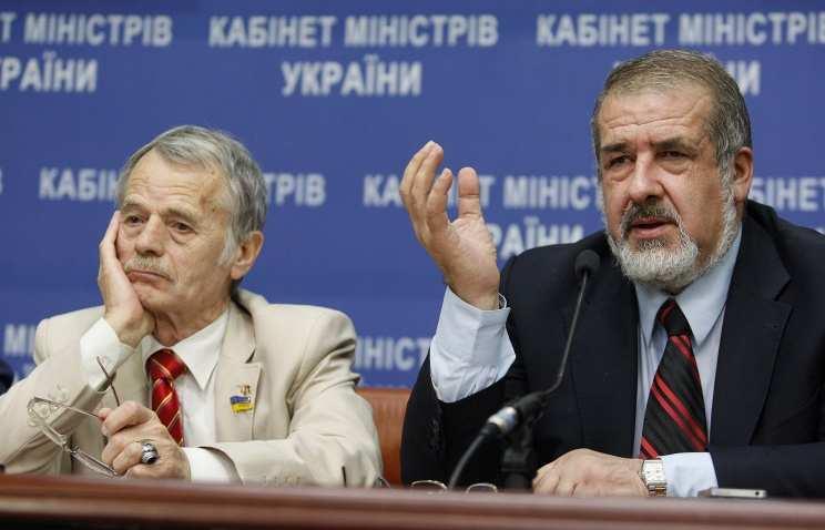 Псевдотатары Киева запугивают крымско-татарский народ | Русская весна