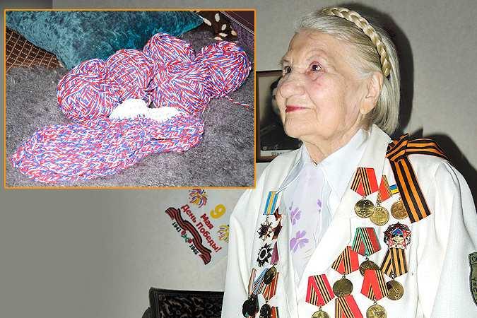 90-летняя ветеран войны из Донецка: Пусть почитают, какой я террорист   Русская весна