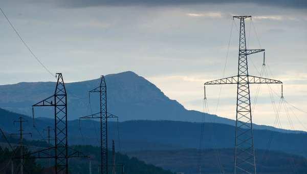 Крым обеспечен энергией на 85%, ситуация штатная, — сенатор   Русская весна