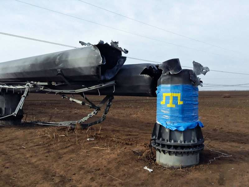 Уничтожение энергосистемы Крыма было вполне реальным, — Аксенов об энергоблокаде | Русская весна