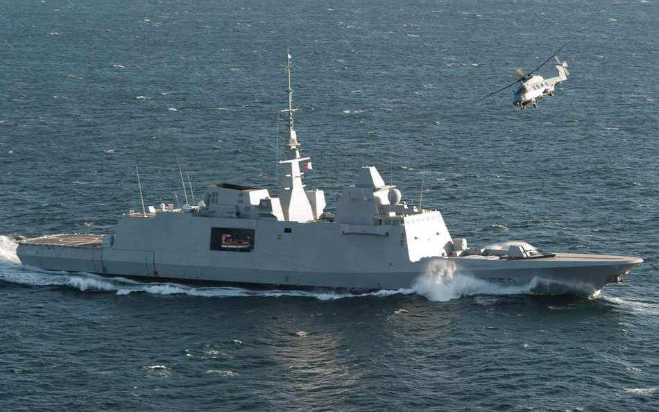 Появились кадры ракетного удара французского фрегата по Сирии (ВИДЕО) | Русская весна