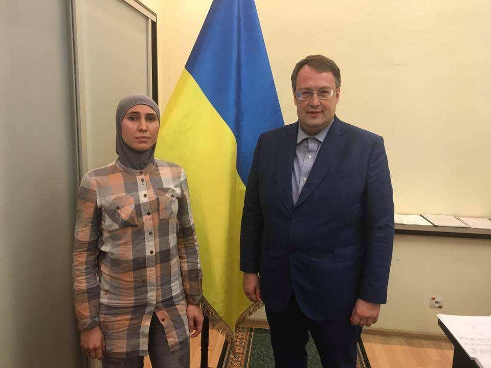 Геращенко пообещал Украине «закон имени Амины Окуевой» | Русская весна