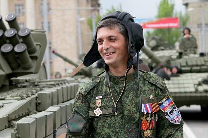 «Умелый ирешительный командир»: военные ДНРвспоминают легендарного Гиви | Русская весна