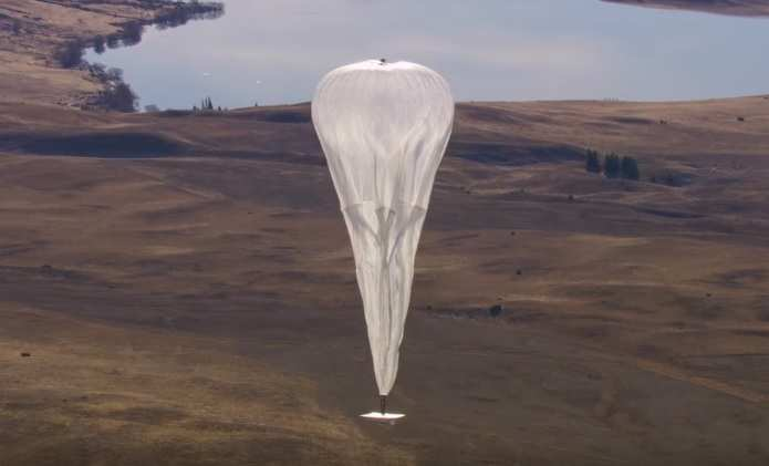 Google запускает 300 воздушных шаров для раздачи интернета (ВИДЕО) | Русская весна