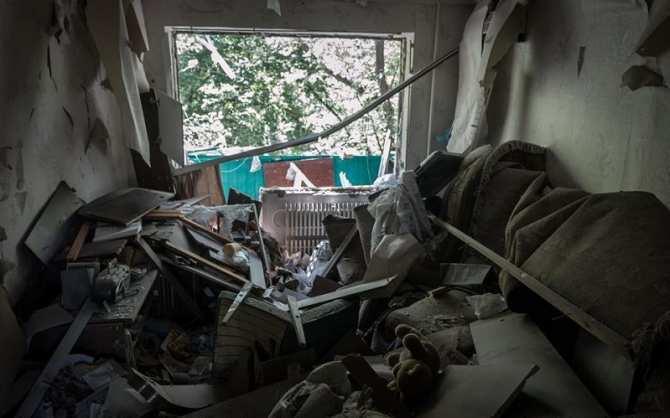«Так выглядит война» — репортаж из многострадальной Горловки (ВИДЕО, ФОТО) | Русская весна