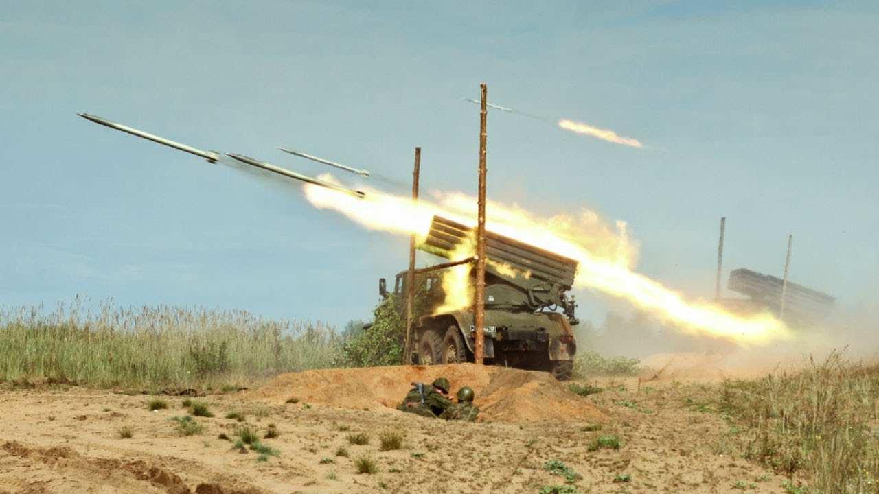 Сирийские боевики получили ракеты «Град» от зарубежных спонсоров (ВИДЕО)   Русская весна