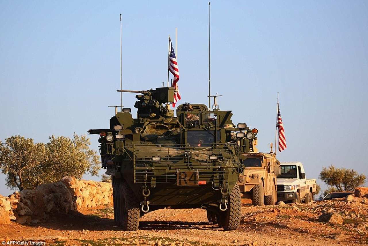 США в Сирии: напакостить на прощание (ФОТО) | Русская весна