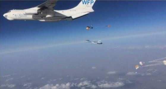 СРОЧНО: Сирия обратилась к ООН в связи со сбросом гуманитарного груза боевикам ИГИЛ в Сирии, — источник (ФОТО) | Русская весна