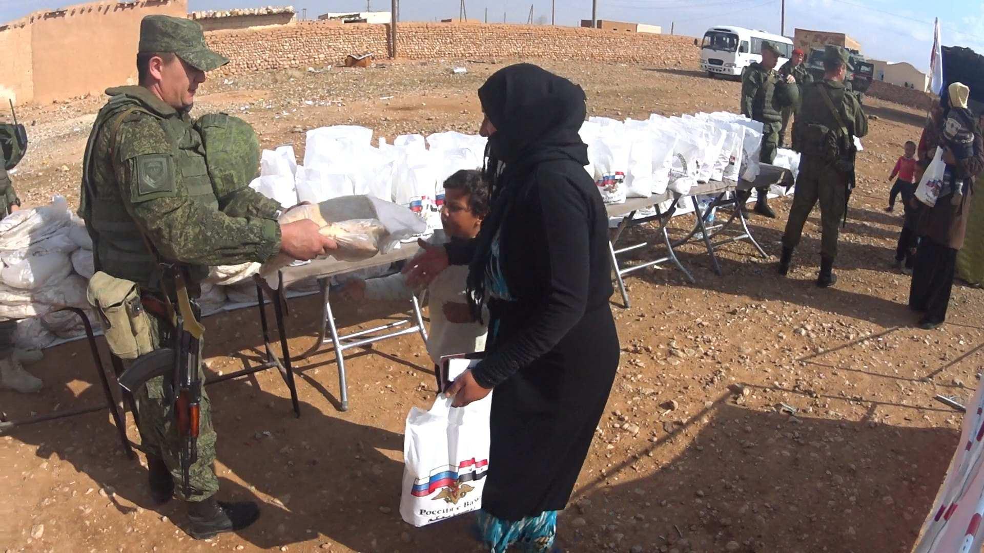 Несущие жизнь: Как российские военные спасают сирийцев (ФОТО) | Русская весна