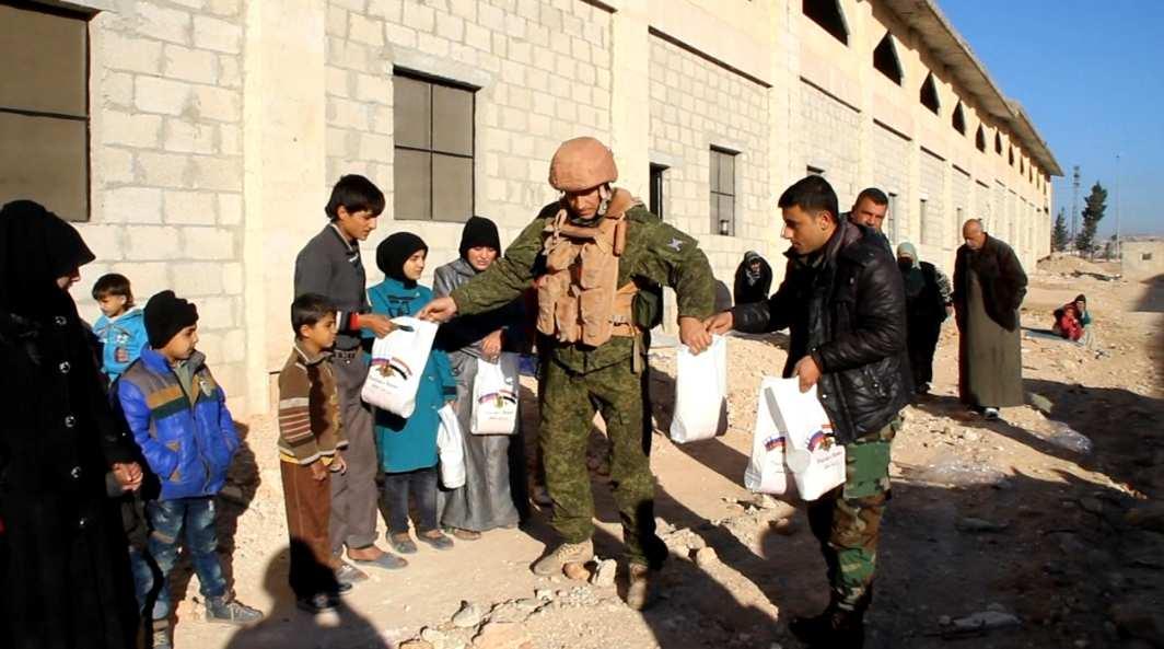 Спецоперация Армии России в Алеппо: колонна КАМАЗов спасает беженцев — эксклюзив «Русской Весны» (ВИДЕО) | Русская весна