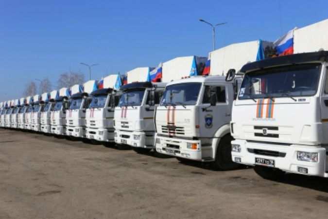 16 апреля Россия отправит на Донбасс очередной гумконвой | Русская весна