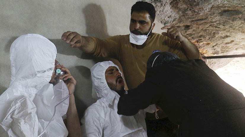 ВМинобороны заявили опостановочных съёмках последствий «химатак» вСирии  | Русская весна