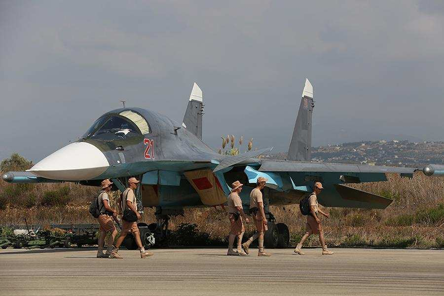 Россия вывела половину своей авиагруппировки с базы «Хмеймим»   Русская весна