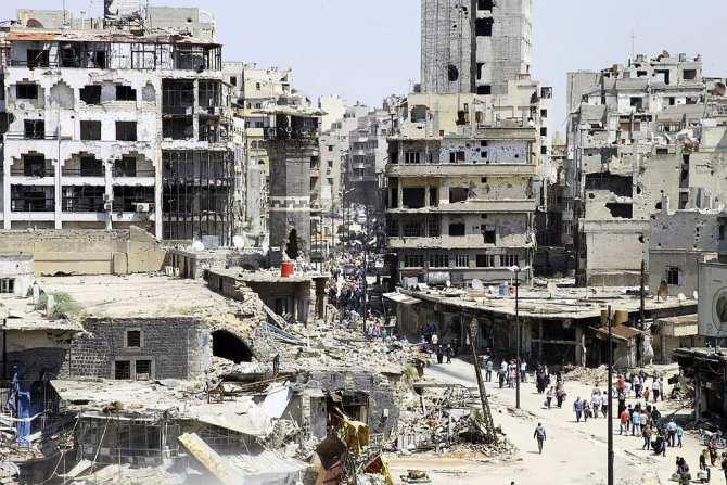 Сирийские хроники: взорванный Хомс залечивает раны (ФОТО) | Русская весна