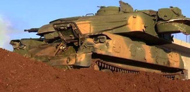 Сирийская армия ведет бои с террористами на городских улицах в провинции Хомс (ВИДЕО) | Русская весна