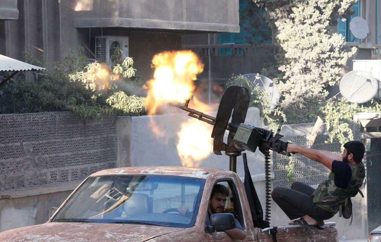 Сводка от «Тимура»: Армия Сирии с боями медленно продвигается, боевики перебрасывают резервы и роют тоннели, в Дамаске готовятся к терактам   | Русская весна