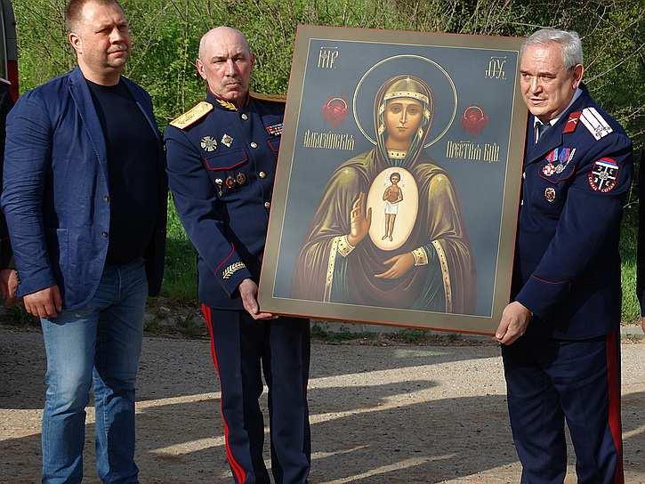 Добровольцы Донбасса доставили вСербию особо почитаемую икону: «Россия — иваша Родина тоже» (ФОТО, ВИДЕО) | Русская весна