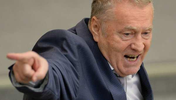 Жириновский: Прилепин защищает русских, он — герой | Русская весна