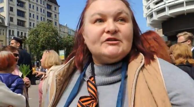 Киевляне ждут освободителей — ополченцев: «Они придут, а вы побежите в Канаду, в Европу» (ВИДЕО)   Русская весна