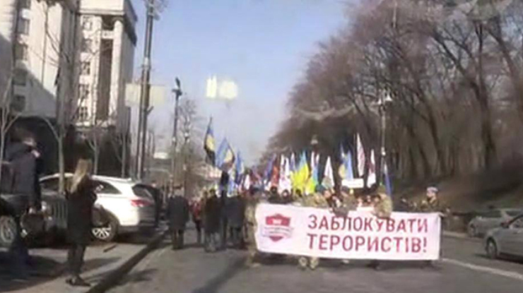 Блокадный Майдан: в центре Киева митингующие перекрывают улицы (ФОТО) | Русская весна