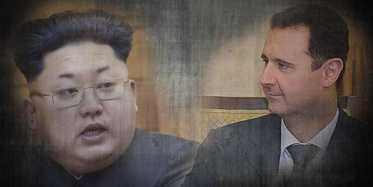Ким Чен Ын отправил телеграмму Башару Асаду | Русская весна