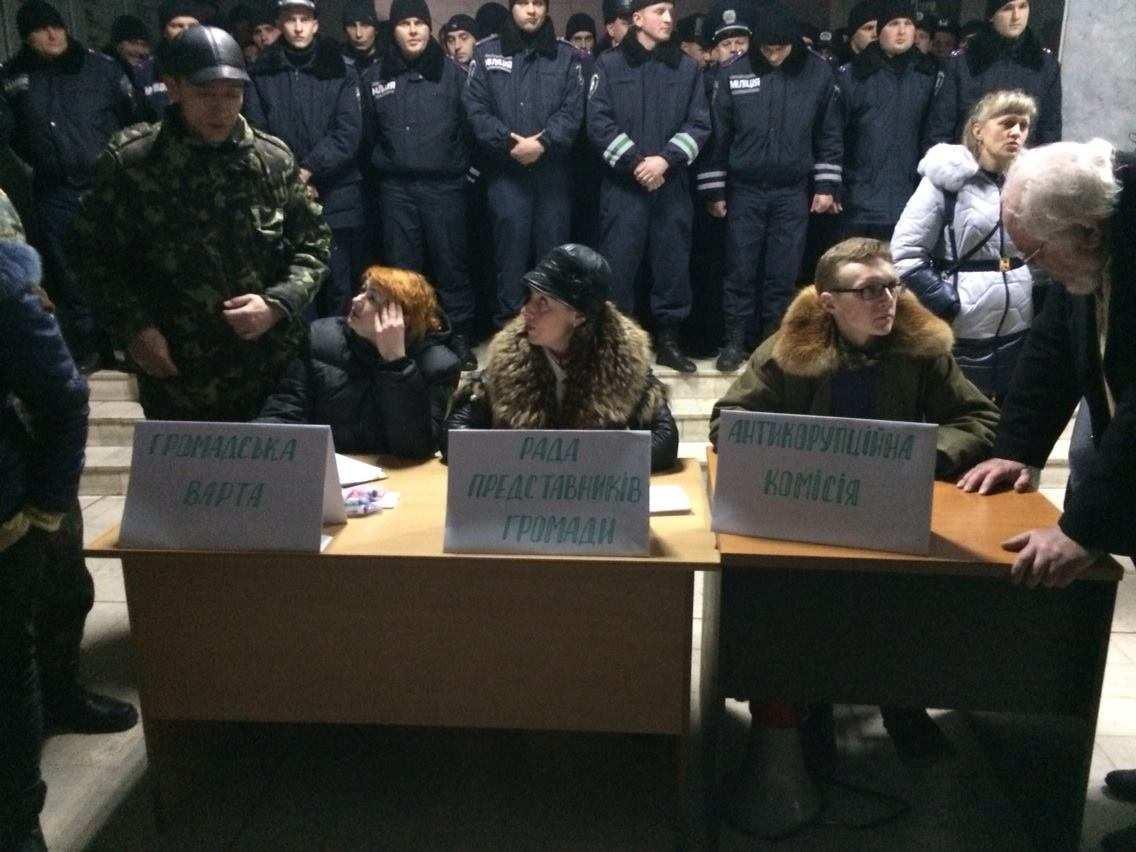 Майдан в Кривом Роге: сторонники Милобога устанавливают «народную власть» | Русская весна