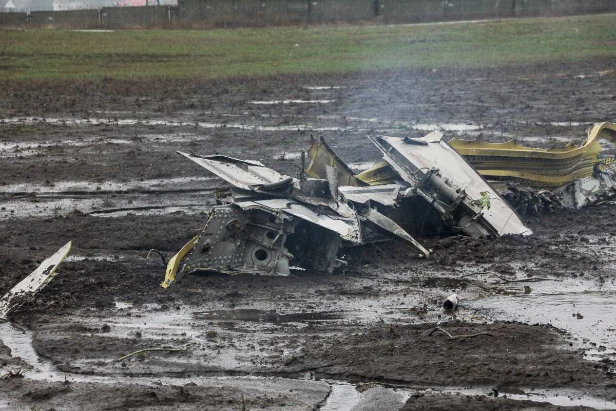 Поисково-спасательные работы на месте крушения в Ростове завершены | Русская весна