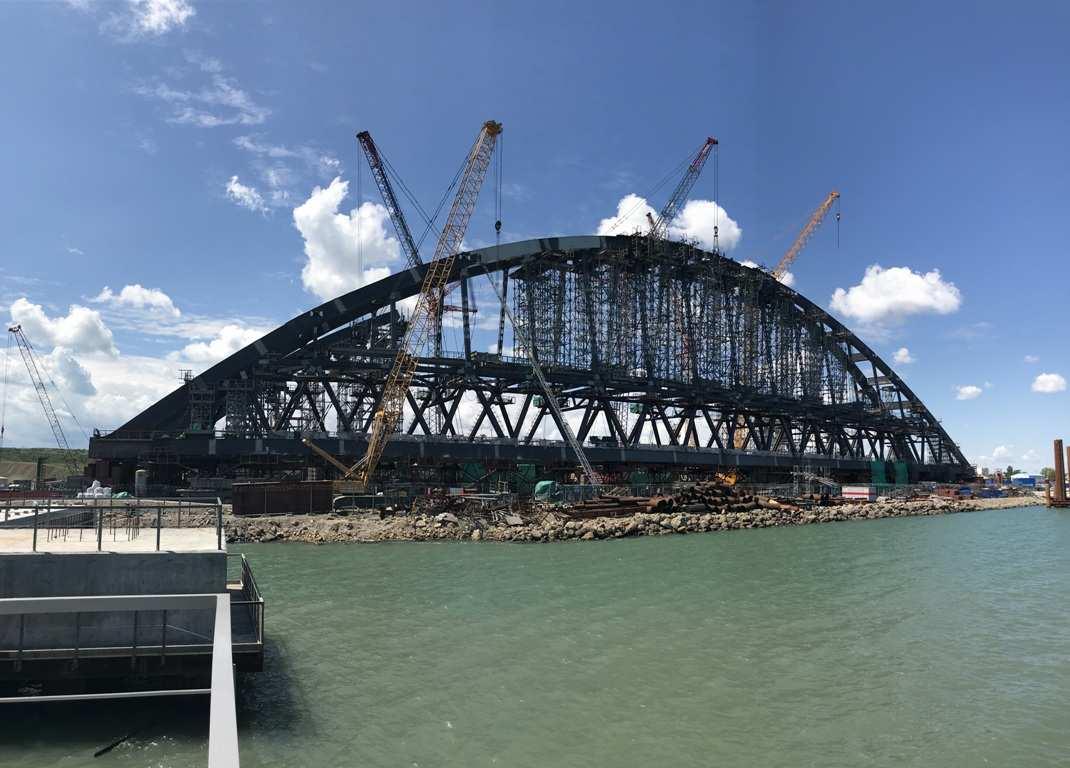 Украина готовит иск к России из-за строительства Керченского моста | Русская весна