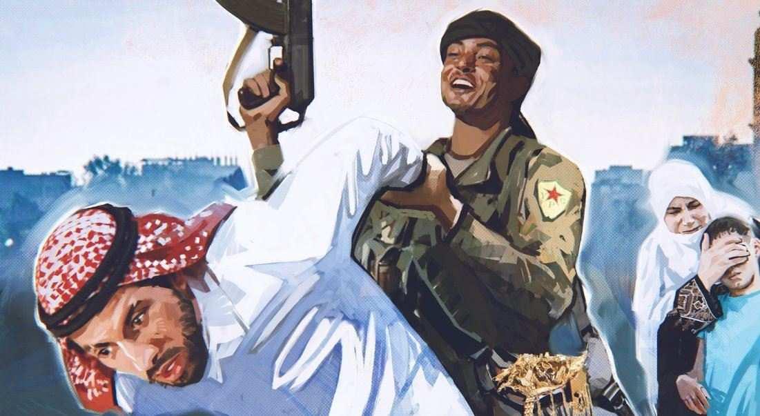 На грани войны в Сирии: курды против арабов, турецкие войска на подходе   Русская весна