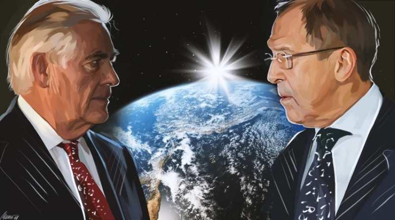 Лавров и Тиллерсон обсудили ситуацию в Сирии  | Русская весна