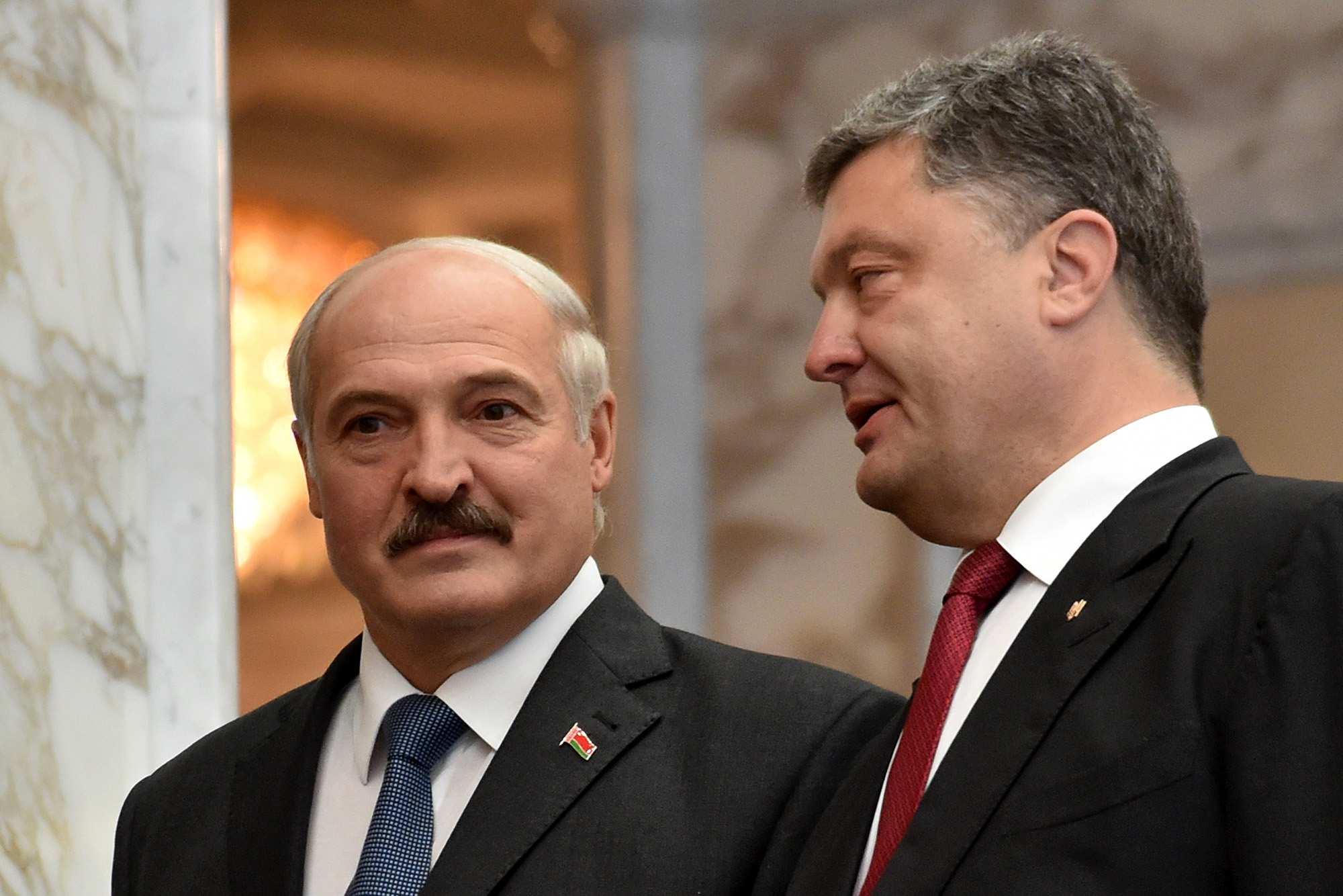 Лукашенко и Порошенко обсудили ситуацию в Донбассе | Русская весна