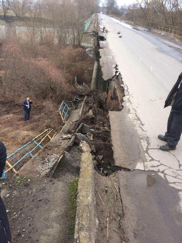 На Украине «устал» еще один мост (ФОТО) | Русская весна