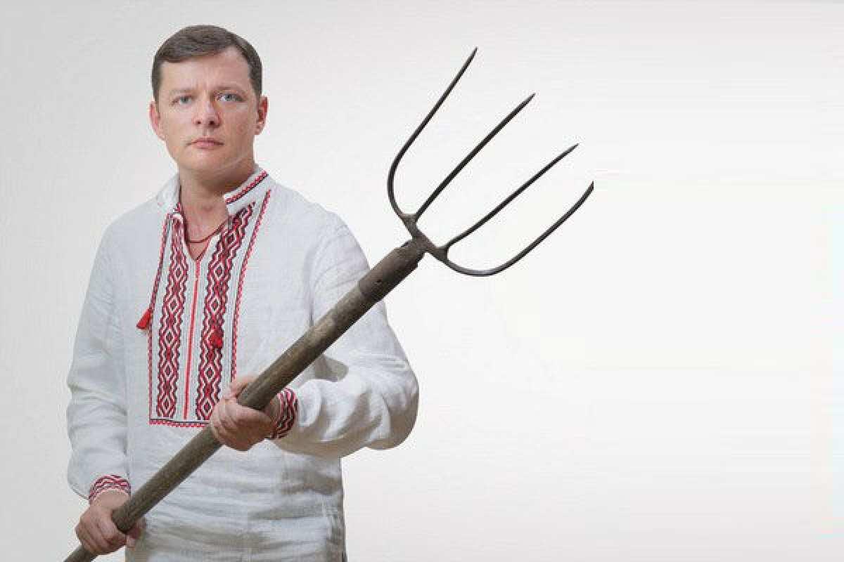 Ляшко требует немедленно вернуть напередовую всеотведенное вооружение | Русская весна