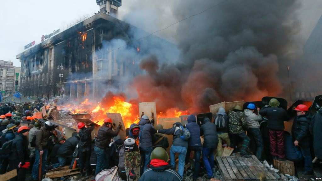 «Майданы и проблемы Украины — 5 лет спустя…»   Русская весна