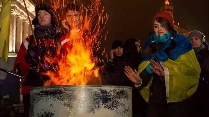 Замерзающие без отопления киевляне и одесситы вышли на акции протеста (ФОТО, ВИДЕО) | Русская весна