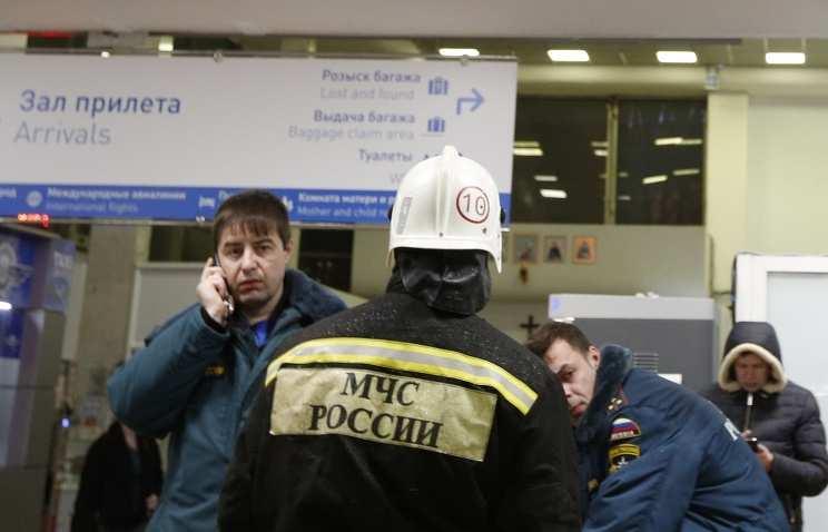 На месте авиакатастрофы в Ростове работают более 800 человек (ВИДЕО) | Русская весна
