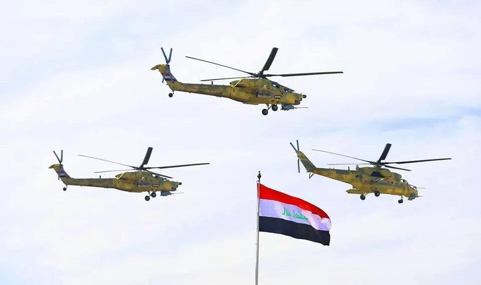 «Ночные охотники» Ми-28 уничтожили колонну ИГИЛ, направлявшуюся в Сирию из Ирака (ВИДЕО) | Русская весна