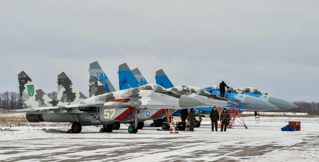 Как и за счёт чего усилилась украинская боевая авиация в 2017 году (ФОТО) | Русская весна