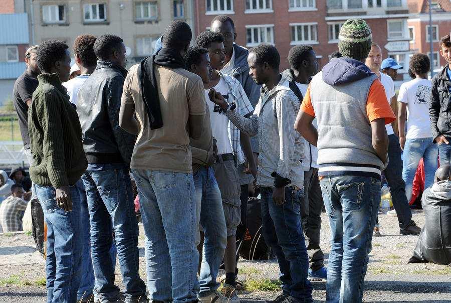 Мигранты вБритании: Белые должны убраться | Русская весна