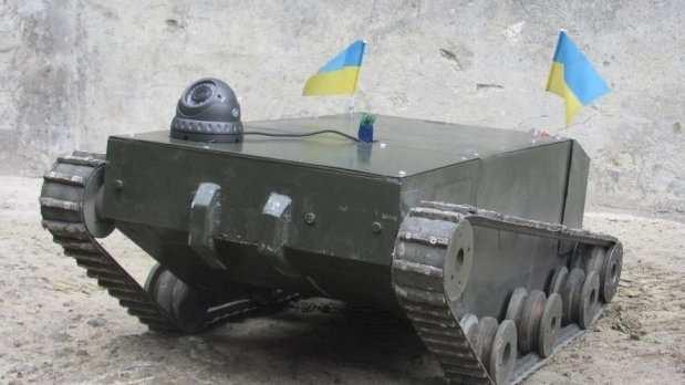 Создатель украинского танка-беспилотника «кинул» заказчиков искрылся сденьгами (ВИДЕО) | Русская весна